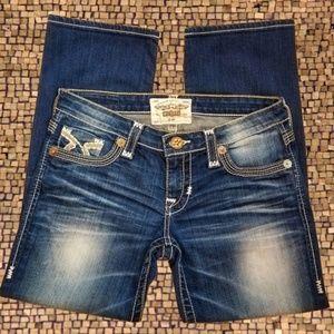 Big Star Liv Cropped Jeans Size 28